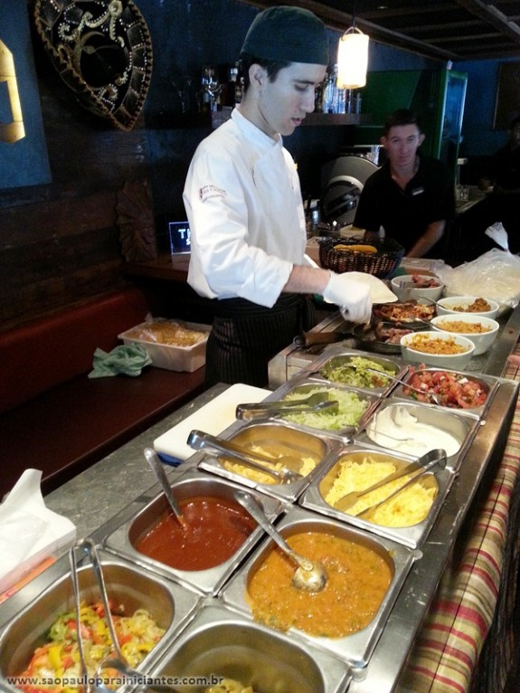 buffet comida mexicana Si Señor