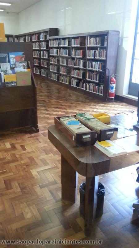 fichários de biblioteca