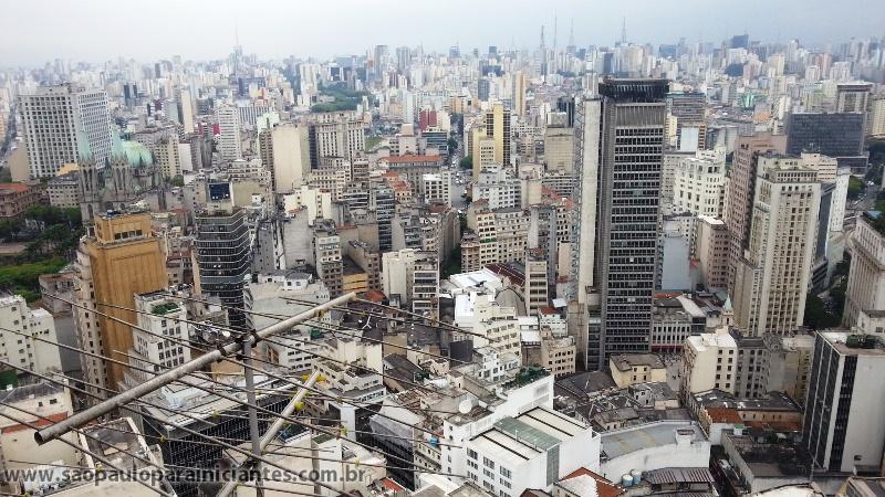 São Paulo vista do Edifício Banespa