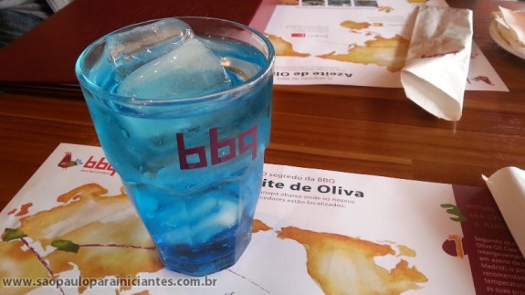curaçau blue bbq