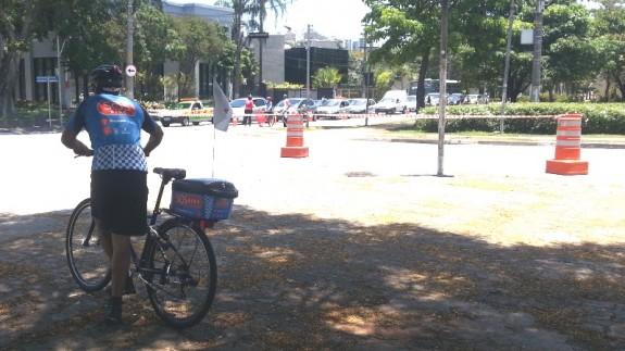 auxilio ao ciclista