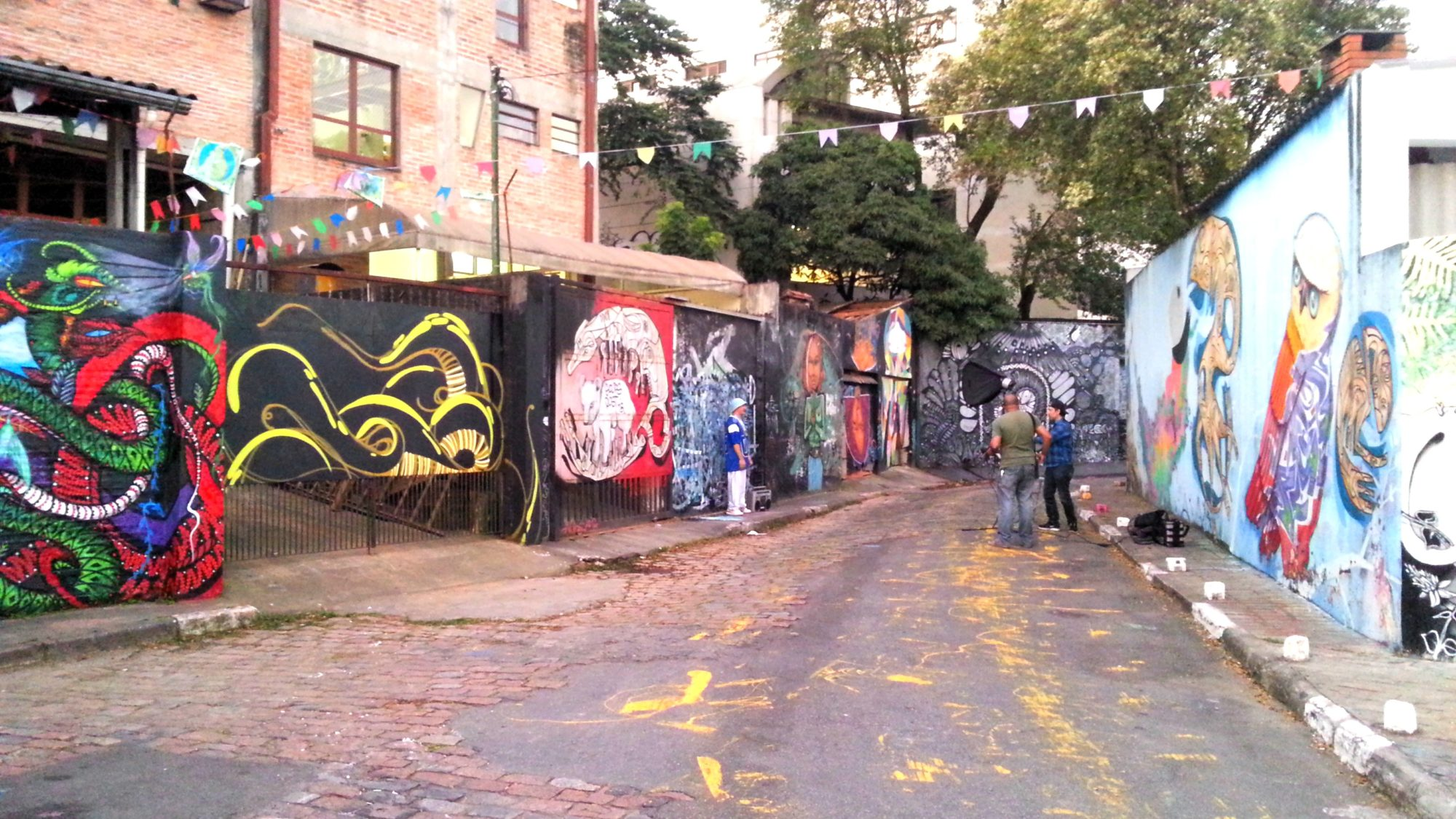 beco do batman graffiti