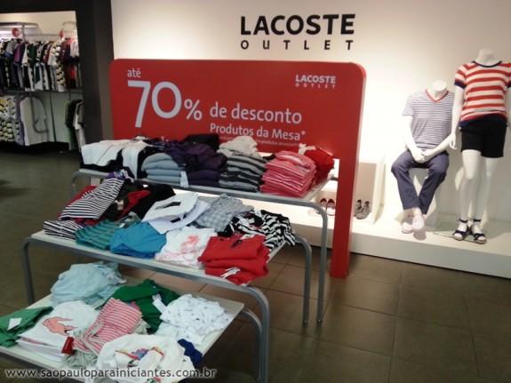 4a15bfc1d25 Lacoste Outlet - São Paulo para Iniciantes