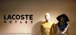 Lacoste outlet loja
