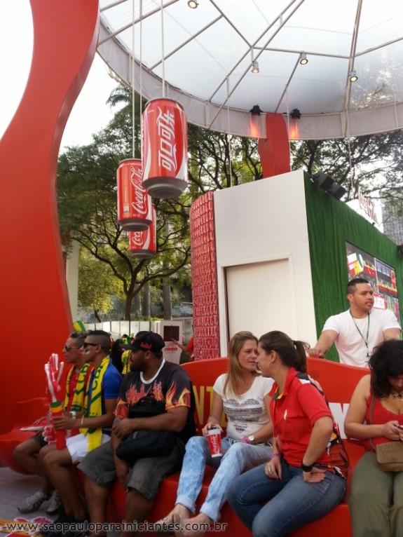 stand coca cola fan fest