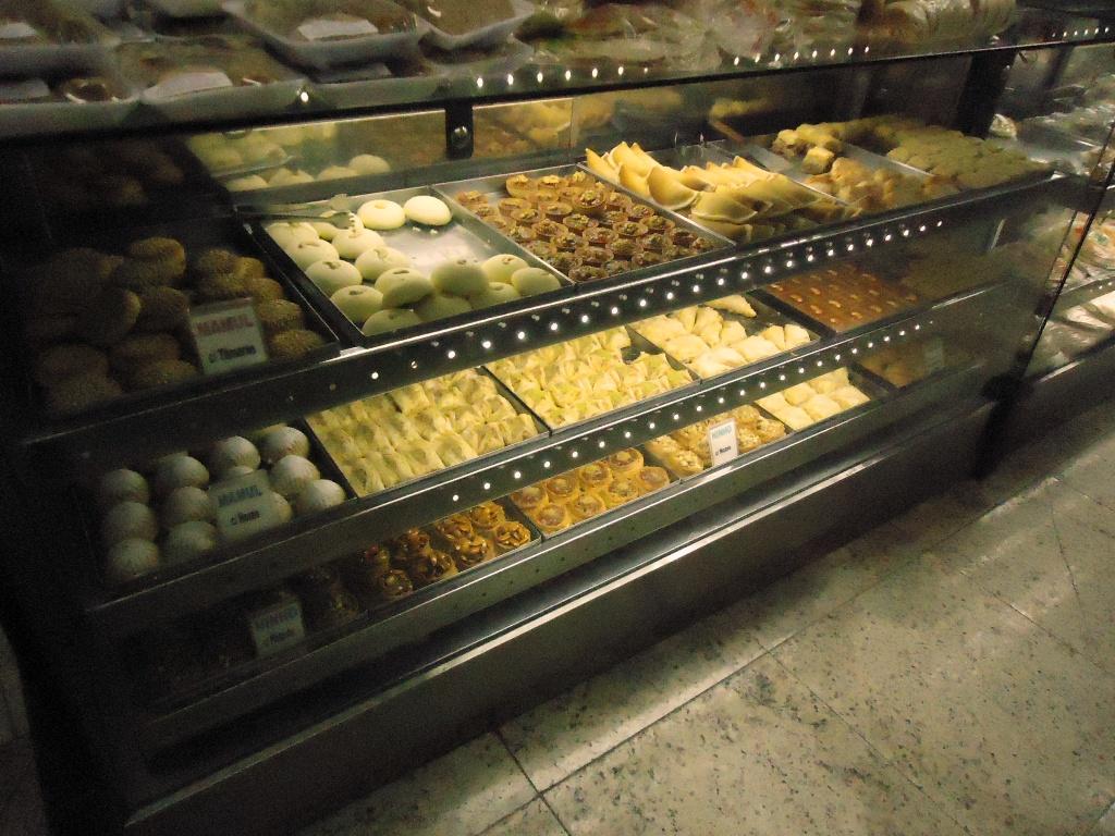 Balcão de doces do Jaber Paraíso