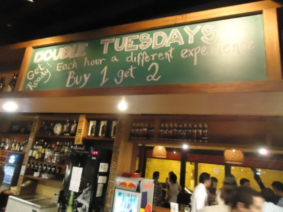 Double Tuesday no Kia Ora