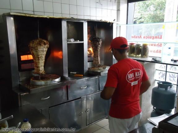 swarma de carne e frango