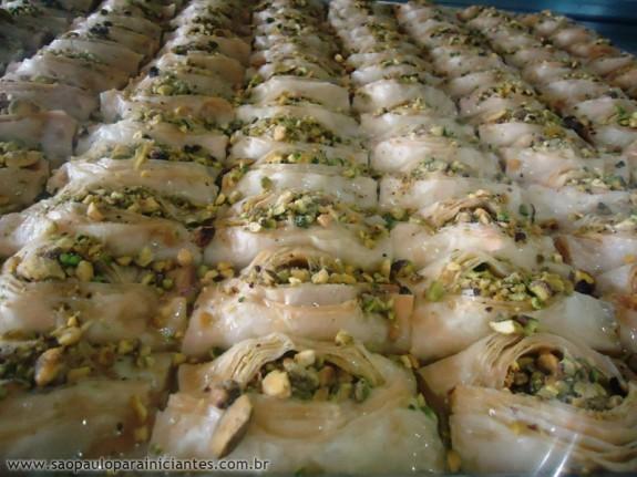 dedo aberto comida arabe