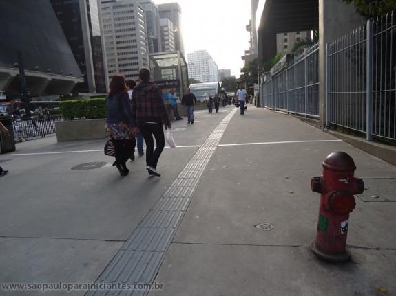 Calçada da Paulista