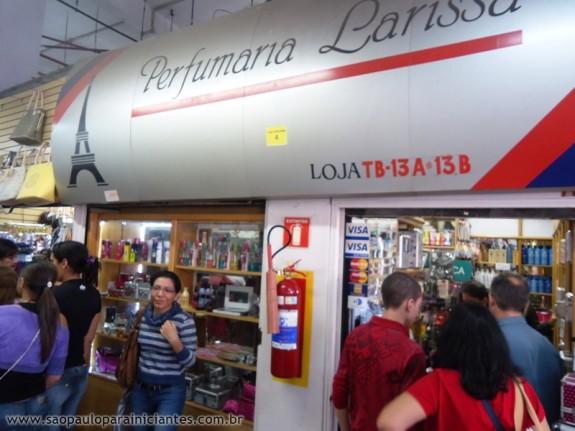 Perfumaria Larissa no Shopping 25 de Março