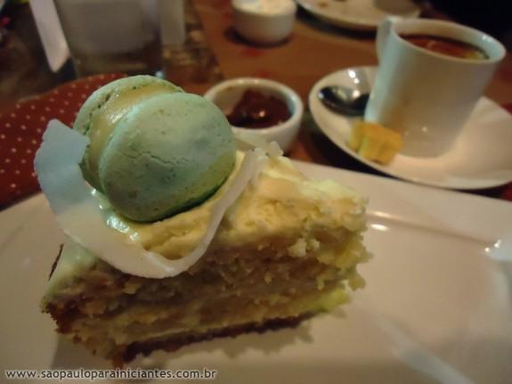 torta de limao com coco