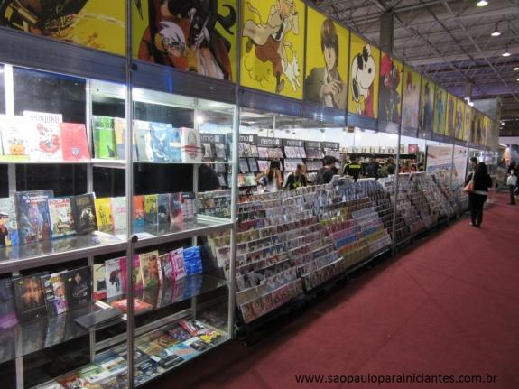 loja de quadrinhos