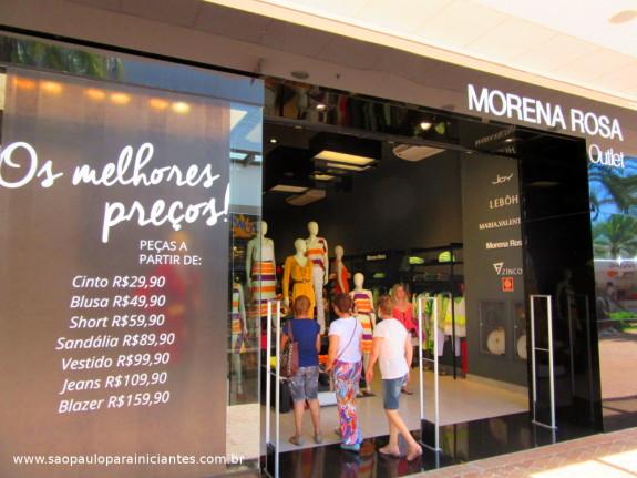 outlet Morena Rosa