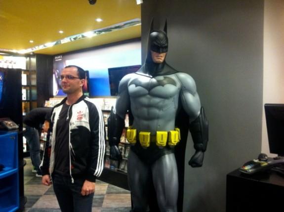 João Vicente e Batman