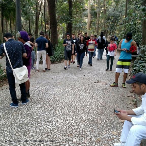 PokemonGo Parque Trianon