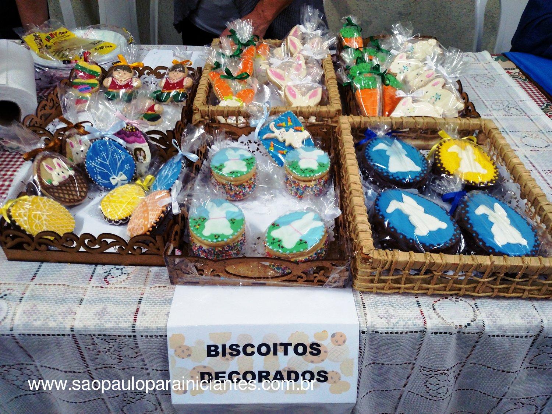 biscoitos decorados pascoa