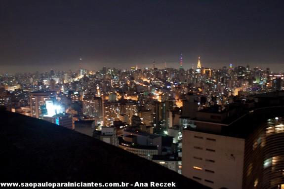 Antenas da Avenida Paulista vistas do terraço itália