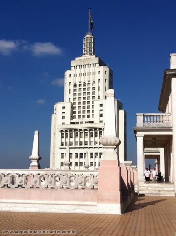 vista do Edifício Martinelli: Edifício Banespa