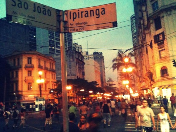 Ipiranga e Avenida Soa João