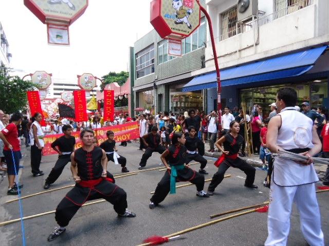 Bairro da Liberdade comemora o ano novo chinês
