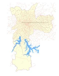 mapa sao paulo distritos zonas