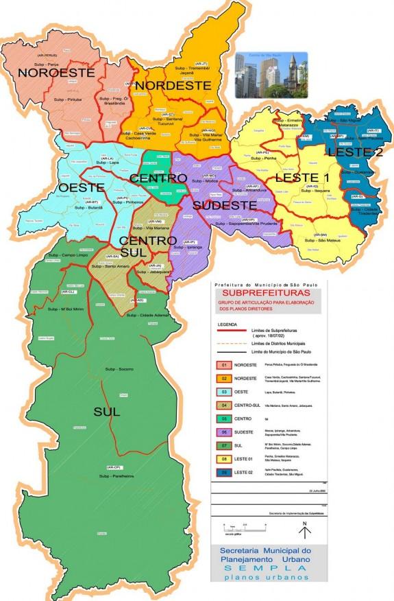 mapa saopaulo bairros