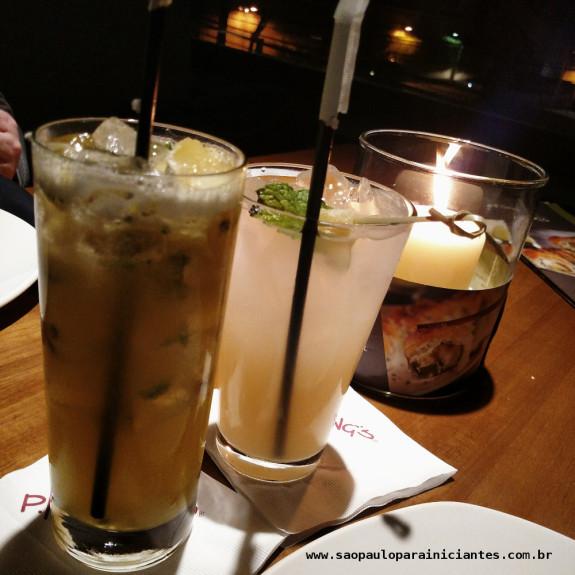 bebidas e coqueteis