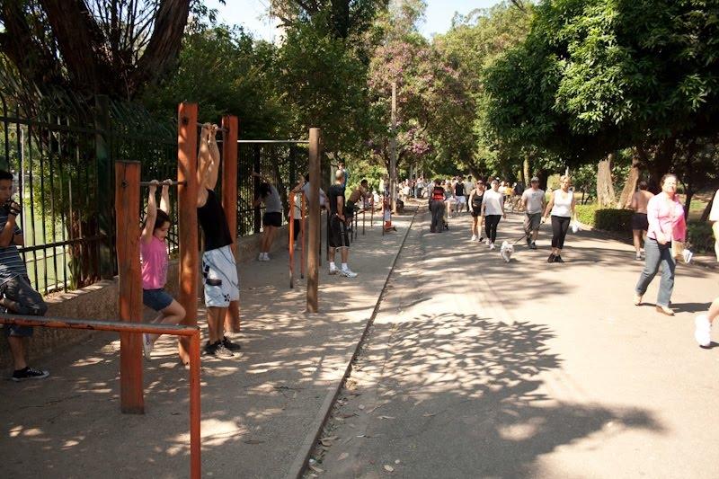 Parque da Aclimação - alongamento