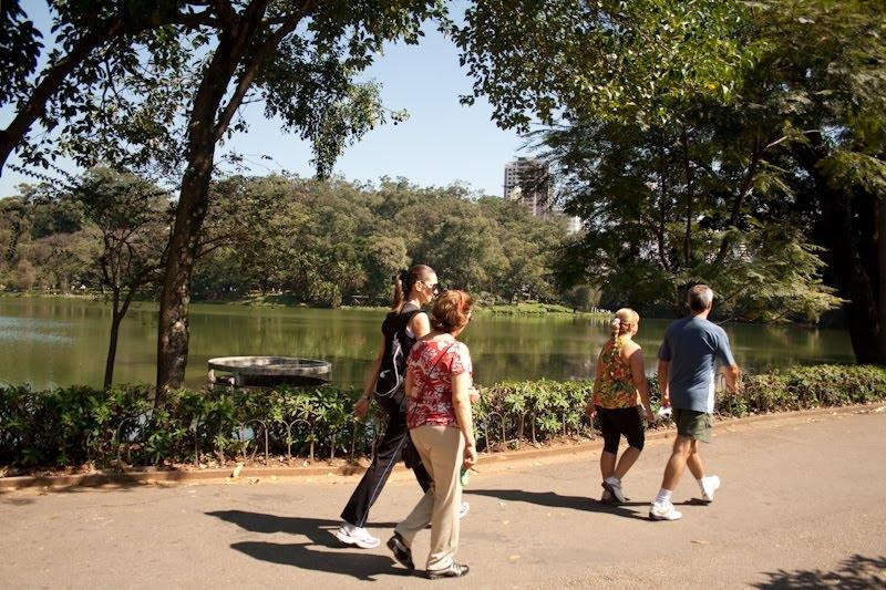 Parque da Aclimação - caminhada