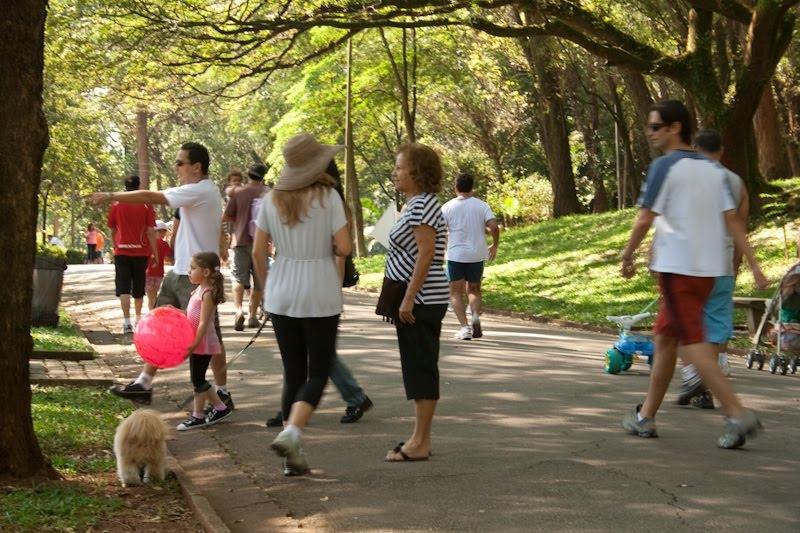 Parque da Aclimação - público